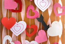 Valentines Day Decor / Easy DIY home decor ideas for all ages. Fun for Kids to make.