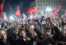 Syriza Tsipras / IL CAMBIAMENTO A FAVORE DELLA MAGGIORANZA CONTRO I CAPITALISTI FINANZIERI EBREI E MASSONI