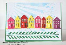 Kort med huse