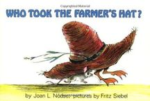 book nook: Who Took the Farmer's Hat