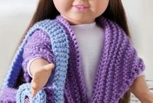 18 inch doll clothes / by Joyce W Van Houtte