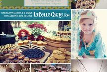 Brave Party / Change the fate of your child's party. / by My Enchanted Birthday