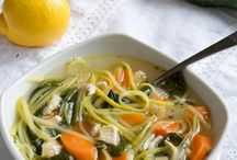Zoodle dishes
