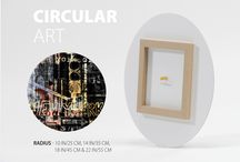 Circular Art / Modern contemporary affordable art products