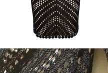 rochie crochet hexagon