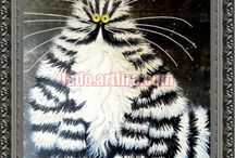 Cats and kittens bead embroidery diy kits