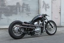 • Shadows • / Honda Shadow VT600 vlx. Motorbike customized