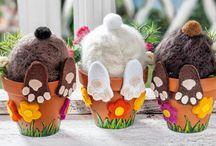 Frühlings-und Osterbasteln