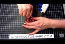 Rose Stampin up