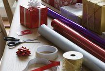 Gift wrapping ideas / by Liz Kiernan Reardon