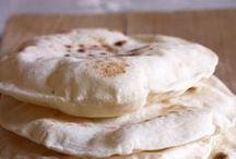 Chapati,pane indiano con le bolle