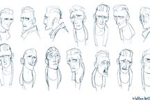Character Design | Expression Sheets