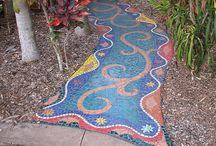 Mosaik-Garten
