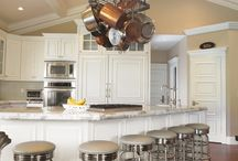 Great kitchen design ideas / by Kelly Foster
