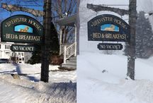 Snowfall in Freeport / Scenes from various snowfall events, including the Blizzard of 2015, also known as Juno. Scenes include the grounds of Brewster House Bed & Breakfast.