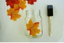diy wedding autumn decorations