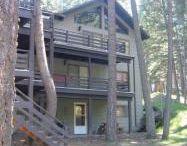Wallowa River frontage homes