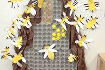 Bee, Ladybird Crafts