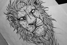 tatto leão