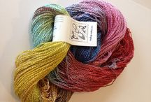 Yarn / Beautiful yarn that Sheep Thrills carries in the shop and on our website.