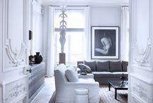 Parisian apartment.