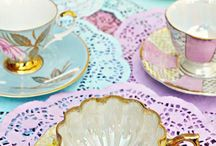 cups & saucers, plates & things
