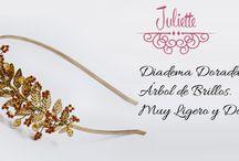 Diademas y Coronitas / Todas las diademas de distintos estilos, disponibles en el Atelier