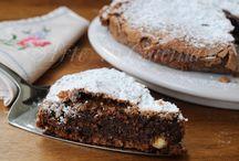 Torta con cioccolato , senza farina