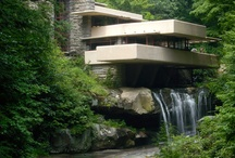Favorite Places & Spaces / Fallingwater or Kaufmann Residence is a house designed by architect Frank Lloyd Wright in 1935 in rural southwestern Pennsylvania