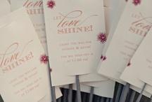 Wedding Ideas for Kristie :)