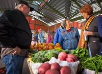 Grand Prairie, Texas Farmers Market / The Grand Prairie Farmers Market sells fresh fruits and vegetables as well as spices, candles, soaps, coffee, honey and an array of other items at Market Square in addition to monthly special events.. March – December, Saturdays, 8 a.m. – 1 p.m.