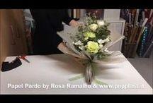 Упаковка цветов-видео