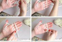 Kézzel kötés