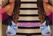 Maripily Denim Shorts / Disponibles online en www.pompisstores.com y en tus tiendas Pompis Stores