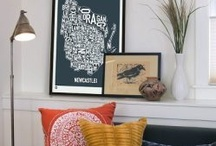 Wall Inspiration / Picture frames and things to hang on your wall.