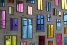 Néo vitraux & vitres colorées / Déco et design des fenêtres