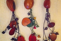Colllares / tagua collares, tagua necklaces, vegetal ivory from Colombia