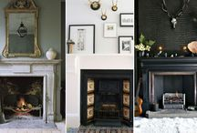 Interiors - Fireplace mantle
