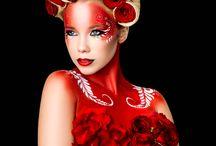 flower makeup project / makeup bu Nadrah Mehmedovic