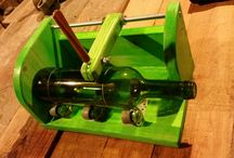 This is how I cutt bottles. I built this jig to make a clean…