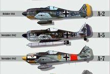 German world war planes