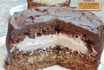 Delicias en EL CANDIL Casa de Té / Exquisitas tortas y postres que ofrece EL CANDIL Casa de Té.