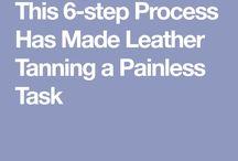 Tanning process
