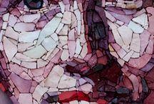 FACE MOSAIC / yüz mozaikleri