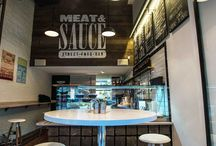 M&S interior design / #meatandsauce #bardesign #sandwich #bar  https://www.facebook.com/meatandsauce