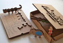 Cardboard toys - newfoldr
