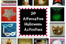 Light Night/Halloween / Ideas and resources for alternative ways to mark this event