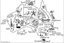 Australian Colouring Pages