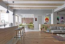 Kitchen&livingroom&dinningroom