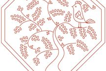 hexie embroidery patterns